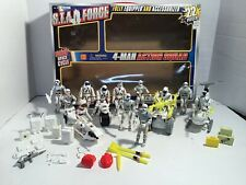 Lanard Toys STAR FORCE Action Squad w/ 5 Vehicles 13 Figures & Equipment 1999