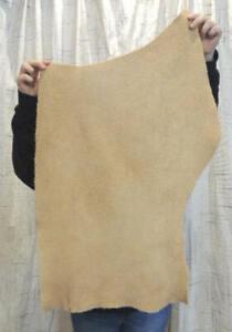 SAND BISON BUFFALO Leather Hide for Native Crafts Moccasins Buckskins Bags Pelts