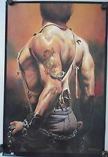 """Boris Vallejo - #2007 -Dragon Tattoo...Original poster in new cond. / 23 x 35"""""""
