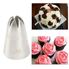 #1B Large Size Cream Nozzle Decorating Tip Icing Nozzle Cake Fondant Baking Tool