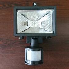 1 Light Flood Light in Black  w/ PIR Sensor Outdoor Lighting EX STORE DISPLAY