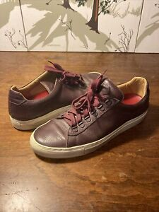Koio Collective Size 42 / US 9.5 Brown Leather Shoes with Cream Colored Soles