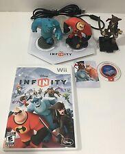 Disney Infinity Wii Game, Portal Base, 3 Figures & Crystal Pirate Mr Incredible