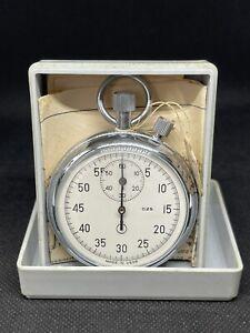 AGAT ZLATOUST Mechanical Stopwatch NOS in Box USSR Soviet 1991