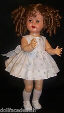 "Lavender Daisy Dress for 22"" Saucy Walker or Smilar Dolls"