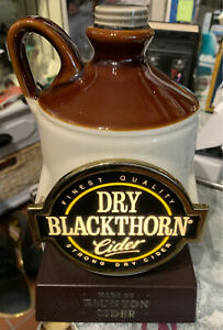 DRY BLACKTHORN CIDER ADVERTISING BAR PUMP TOP LIGHT PUB DRINK ENGINE MAN CAVE...