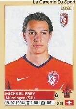 163 MICKAEL FREY SUISSE LILLE.OSC LOSC STICKER FOOTBALL 2015 PANINI ~