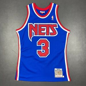 100% Authentic Drazen Petrovic Mitchell & Ness 92 93 Nets Jersey Size 40 M Mens