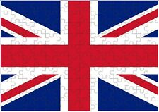 Great Britain Flag A4 JIGSAW Puzzle Birthday Christmas Gift (Can Be Personalised