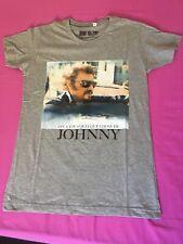Tee shirt Johnny Hallyday neuf encore emballé taille S
