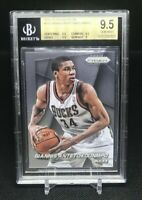 GIANNIS ANTETOKOUNMPO 2014-15 PANINI PRIZM #73 BGS 9.5 GEM MINT! 2ND YEAR!