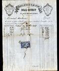 """SAINT-JEAN-des-OLLIERES (63) RUBANS & ARTICLES de BLANC """"BEAL & GOURCY"""" en 1879"""