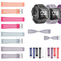 Silicone Replacement Wrist Band Watch Strap For Fitbit Versa Smart Bracelet TOP