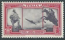 1932 REGNO ESPRESSO AEREO GARIBALDI 2,25 LIRE MNH ** - E131