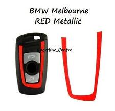 Rosso Metallizzato decalcomania in vinile chiave BMW Adesivo f30 f35 f20 f10 f18 f07 1 3 5 M Series