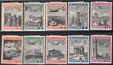 3.3.GREECE.1940 GREEK YOUTH ORG. E.O.N.AIRMAIL SET SC.C38-C47,MH