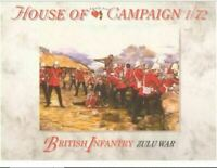 A Call To Arms British Infantry Zulus ar House Of Campaign Soldier Kit by 1:72