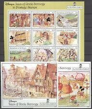 Walt Disney, Rattenfänger, Scrooge - St.Vincent Grenadinen - ** MNH 1992