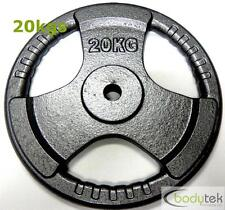 29mm Standard 20kg Hammertone Weight Weights Plate EZ Tri Grip Fitness Gym