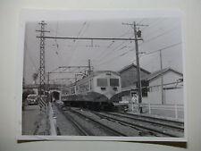 JAP583 - 1965 SHIZUOKA RAILWAYS Co ~ TRAIN PHOTO Shizuoka Japan