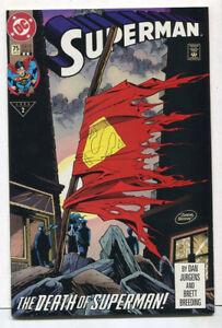 Superman #75 NM+ 2nd Print   The Death Of Superman  DC Comics  CBX1R
