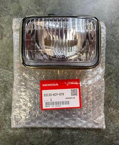 Genuine OEM Honda Headlight Lens Unit Assembly XR400R XR650R 33123-KCY-670