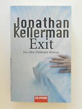 Jonathan Kellerman Exit Alex Delaware Roman Thriller Goldmann Verlag