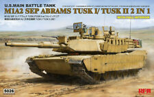 1:35 M1A2 SEP ABRAMS TUSK I/TUSK II 2 IN 1, Full interior, RYE field model