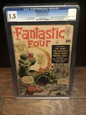 Fantastic Four 1 CGC 1.5 (1st Marvel Team-up)🔥 0782316001 Gorgeous For A 1.5