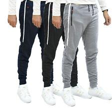 Pantaloni tuta uomo leggeri Basic Tinta unita Sport Fitness Sportivo con tasche