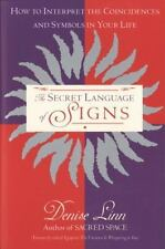 The Secret Language of Signs by Denise Linn (1996, pb) NEW book hsp empath