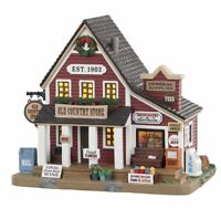 Lemax Village Collection 2020 OLD COUNTRY STORE #05635 BNIB Lighted Building