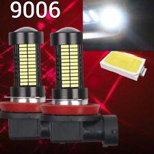 2 pcs 9006 HB4 6K White 108 4014 LED Bulb Fog Light For BMW Benz V W Ford GM
