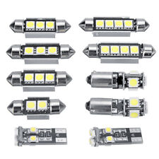10* Car White LED Interior Light Bulbs Kit For MK4 Golf GTI Jetta 1999-2005