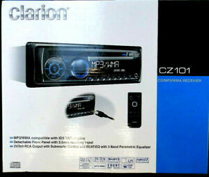 Clarion CZ101 CD Player Car Audio Stereo Receiver From Japan NEW