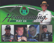 2018 KENSETH,MARTIN, BIFFLE, BURTON ROUSH HOMECOMING NASCAR DATED 5/24 POSTCARD