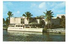 Chrome Postcard,Creighton's Restaurant,Fort Lauderdale,Florida