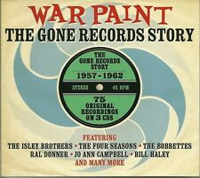 WAR PAINT THE GONE RECORDS STORY 1957 - 1962 - 3 CD BOX SET