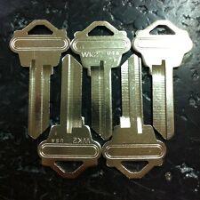 5 pieces Wk2 Key Blanks Np Nickel Plated new locksmith bulk