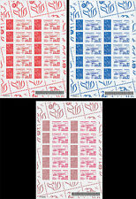 "Sheetlets Perso stamps ""Marianne / Airbus A380 - Certification Mission 01"" 2006"