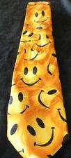 Yellow SMILEY FACE Happy Theme Man's Neck Tie