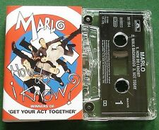 Marlo How Do I Know Cassette Tape Single - TESTED