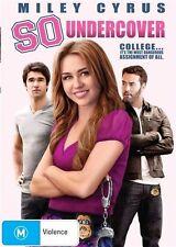 So Undercover (2012) Miley Cyrus - NEW DVD - Region 4