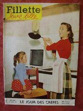 ▬► Fillette Jeune Fille N° 550 de 1957 Gérard Philippe   Aggie Lili
