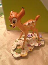 NIB WDCC Bambi: Purty Flower