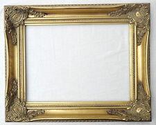(PRL) CORNICE CORNICI QUADRO QUADRI LEGNO ORO GOLD FRAME 43,5 x 53,5 cm CADRES