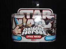 Star Wars KI-ADI-MUNDI & COMMANDER BACARA Galactic Heroes action figures NEW 08
