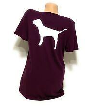 NWT Victorias Secret PINK Graphic Vneck Tshirt Tee Short Sleeve Size Medium