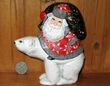 Figurines de Noël blanc pour la maison