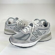 New listing New Balance 990v4 Wolf Grey Running Shoes W990GL4 Sneakers Women's 8.5 B Men's 7